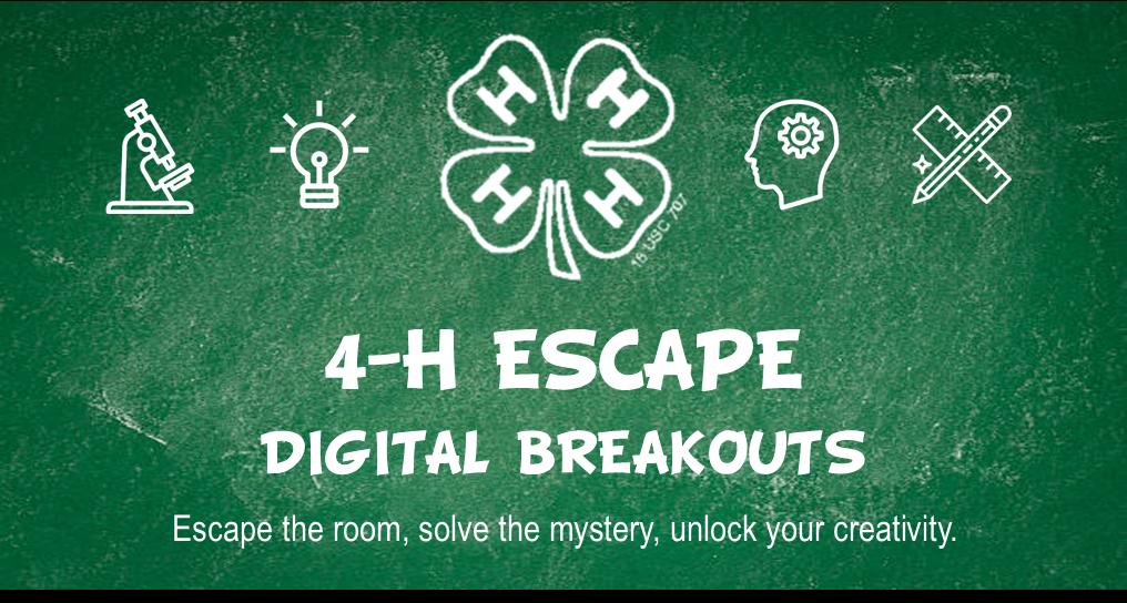 4-H Escape Digital Breakout Logo