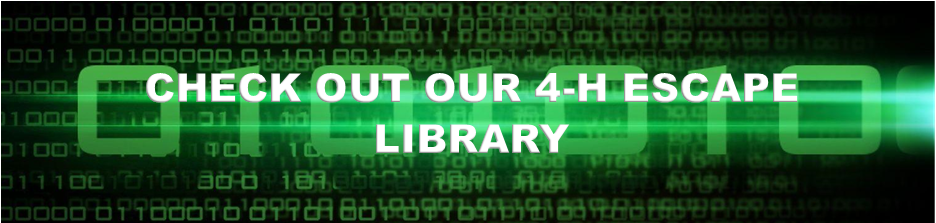 Check out our 4-H escape library